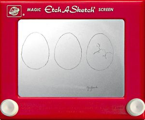 Jeff  Gagliardi Etch-A-Sketches - Eggs