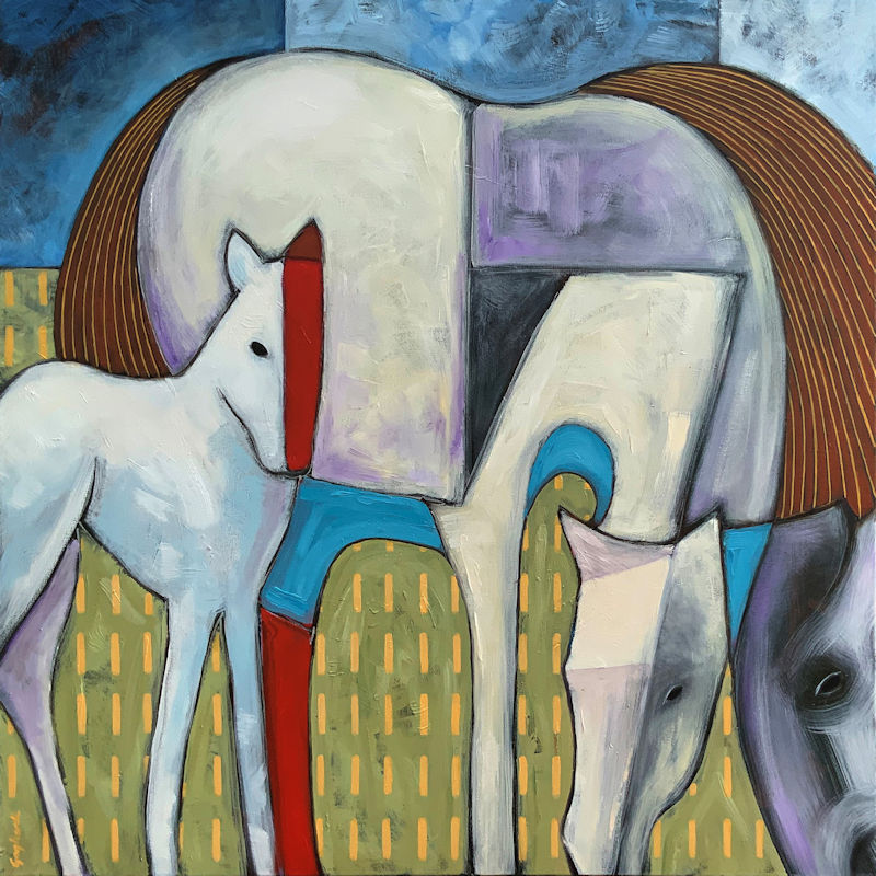 Jeff Gagliardi Fine Art Two Horses