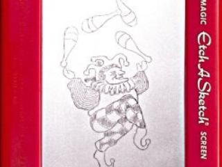 Jeff  Gagliardi Etch-A-Sketches - Juggler