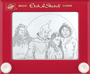Jeff  Gagliardi Etch-A-Sketches - Wizard of Oz