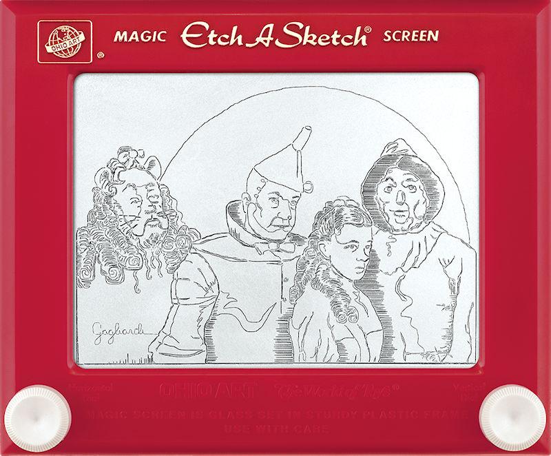 Jeff  Gagliardi Etch-A-Sketches - Wizard of Oz