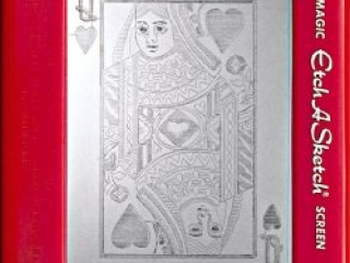 Jeff  Gagliardi Etch-A-Sketches - Queen of Hearts