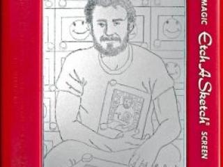 Jeff  Gagliardi Etch-A-Sketches - Self Portrait
