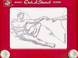 Jeff  Gagliardi Etch-A-Sketches - Sistine Chapel