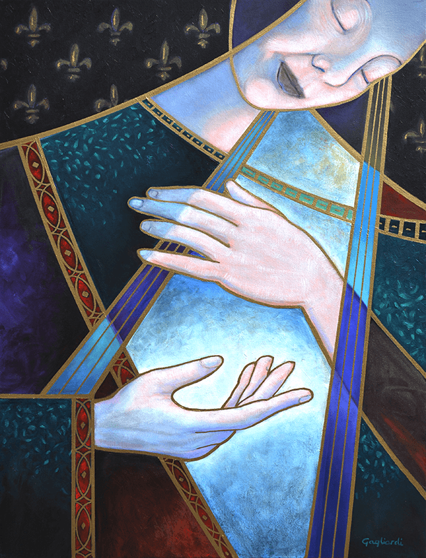 Jeff Gagliardi Fine Art: Annunciation