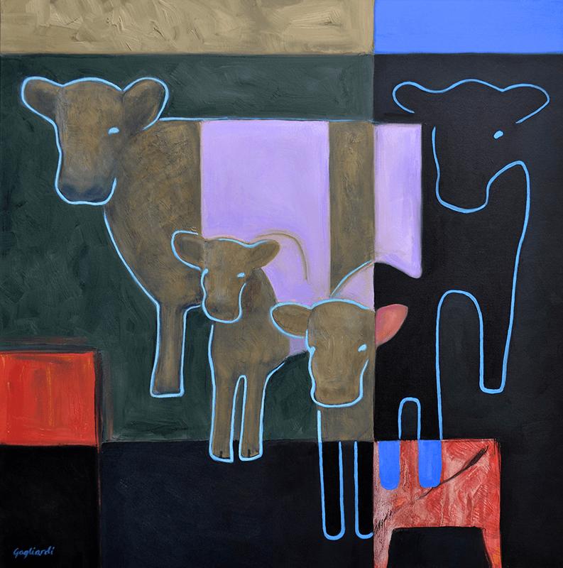 Jeff Gagliardi Fine Art: Cows II