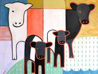 Jeff Gagliardi Fine Art: Cows