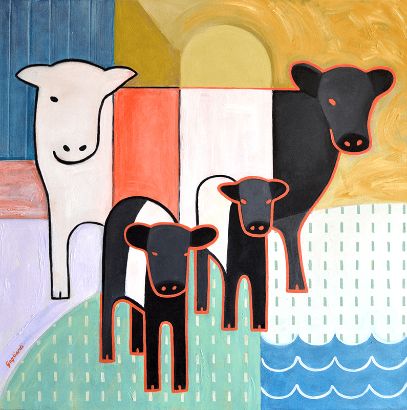 Jeff Gagliardi Fine Art: Cows