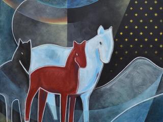 Jeff Gagliardi Fine Art: Red Horse