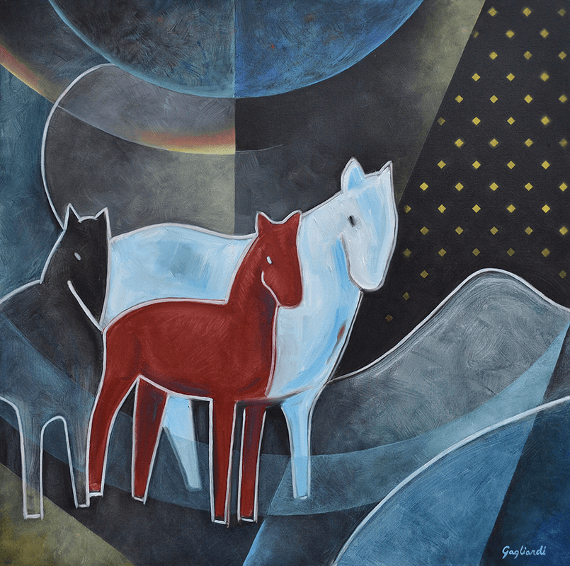 Jeff Gagliardi Fine Art - Red Horse